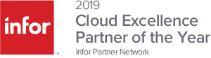2019 Cloud Excellence Partner of the Year Award Graphic